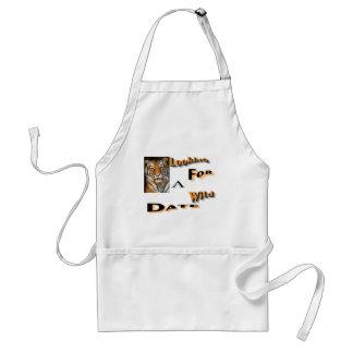 wild date adult apron
