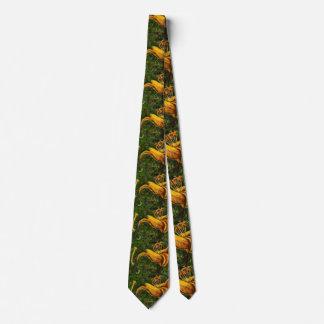 """""""Wild Day Lilly"""" Flower Garden Neck Tie"""