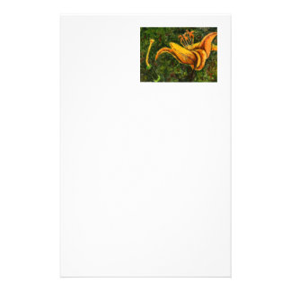 """""""Wild Day Lily"""" Floral Stationery"""