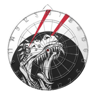 wild dinosaur dartboard