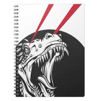 wild dinosaur note books