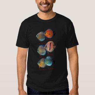 Wild Discus Fish Shirts