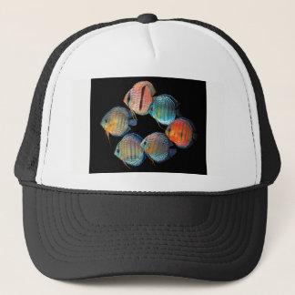 Wild Discus Fish Trucker Hat