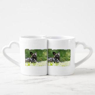 Wild Dog Couple Mugs