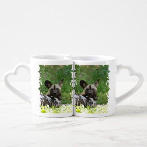 Wild Dog Couples Mug