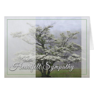 Wild Dogwood - Heartfelt Sympathy Card