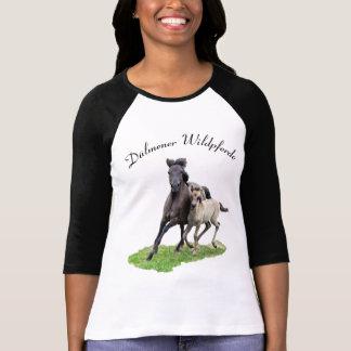Wild Dulmen Horse Cute Foal -- Dülmener Wildpferde T-Shirt