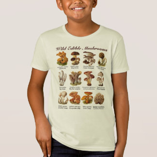 Wild Edible Mushrooms T-Shirt