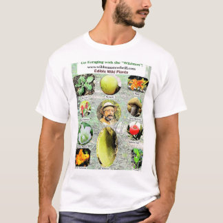 "Wild Edible Plants by ""Wildman"" Steve Brill T-Shirt"