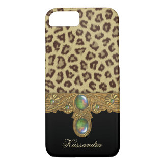 Wild Elegance Leopard iPhone 7 Case