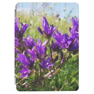 Wild elegant purple flower iPad air cover