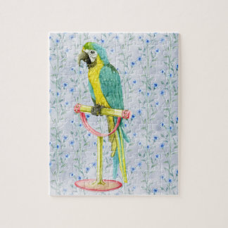 Wild Exotic Colorful Bird Jigsaw Puzzle