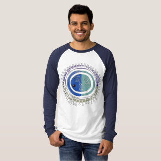wild-eyed sun face, cotton long sleeve shirt