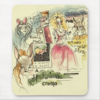Wild fairytale mouse pad