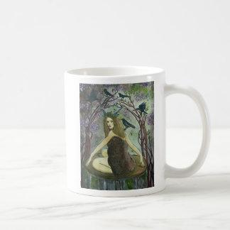 Wild Fauna Witch Art Mug