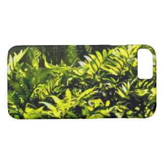 Wild Fern Abstract iPhone 7 Case