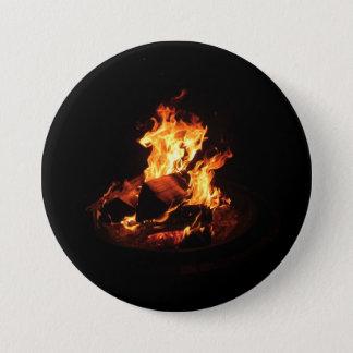 Wild Fire 7.5 Cm Round Badge