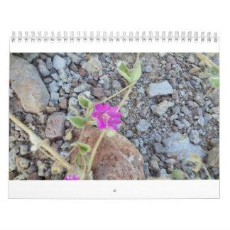wild flower calender calendar