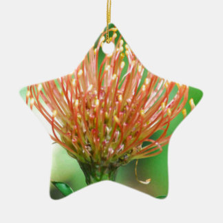 wild flower christmas tree ornament