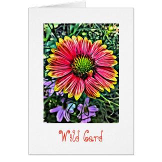 Wild Flower Note Card