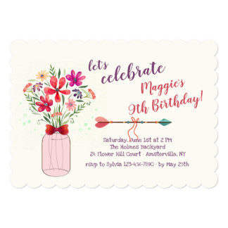 Wild Flowers Arrangement Card
