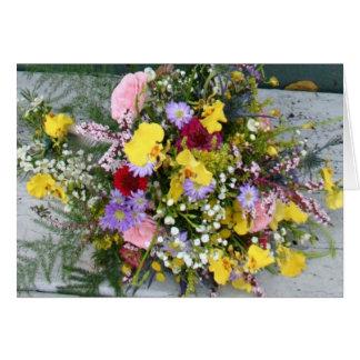 Wild Flowers Card