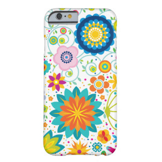 Wild Flowers Barely There iPhone 6 Case