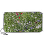 Wild flowers laptop speaker