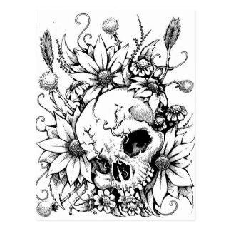 Wild Flowers Postcard