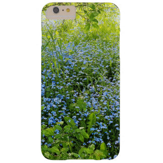 Wild forge me nots flowers photo barely there iPhone 6 plus case