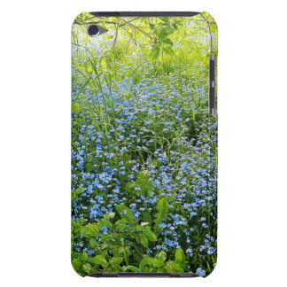 Wild forge me nots flowers photo barely there iPod case
