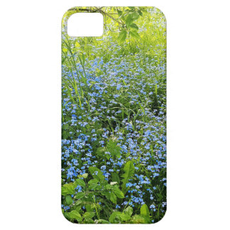 Wild forge me nots flowers photo case for the iPhone 5