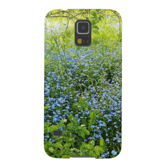 Wild forge me nots flowers photo cases for galaxy s5