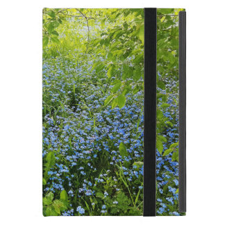 Wild forge me nots flowers photo iPad mini cover