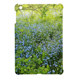 Wild forge me nots flowers photo iPad mini covers