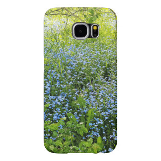 Wild forge me nots flowers photo samsung galaxy s6 cases