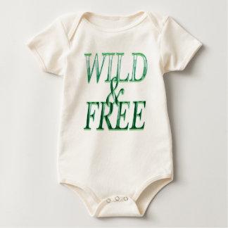 Wild&free Baby Bodysuit