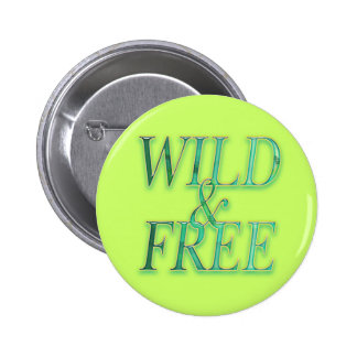 Wild free pinback buttons