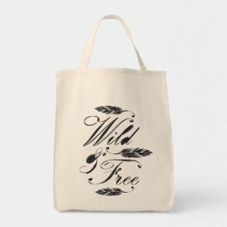 Wild Free Tote Bags
