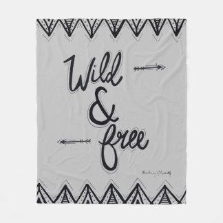 Wild & Free Fleece Blanket