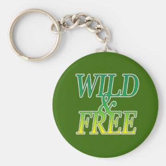 Wild&free Keychain