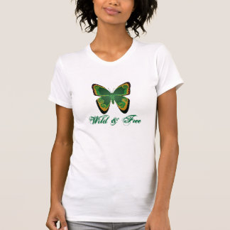Wild & Free-Ladies AA Cap Sleeve Raglan Tee Shirt
