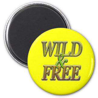 Wild&free Magnet