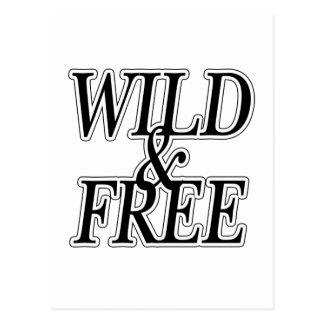 Wild&free Postcard