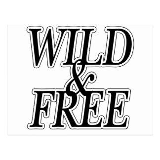 Wild free post cards