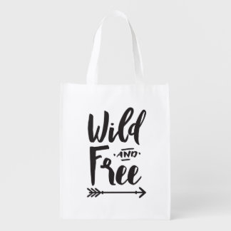 Wild & Free Reusable Bag
