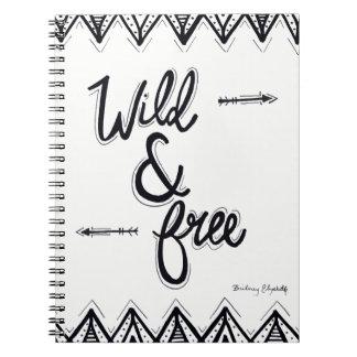 Wild & Free Spiral Notebooks
