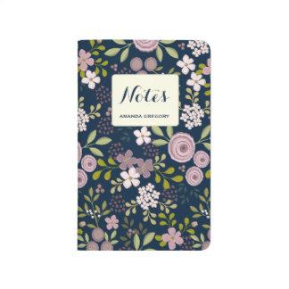 Wild Garden Personalized Floral Journal