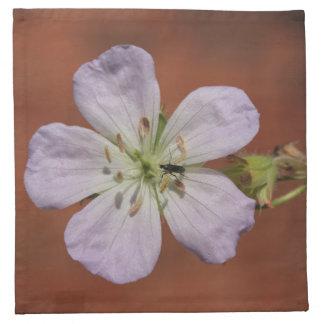 Wild Geranium Printed Napkins