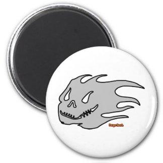 Wild Ghost Fridge Magnet